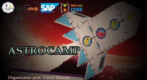 """Proiectul """"AstroCamp – Astronaut pentru o zi"""""""